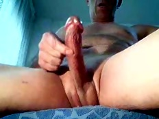 Masturbating big cock on webcam hot hot orgasm..!!