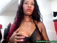 Simply Huge Nipples On XcamsXx.com